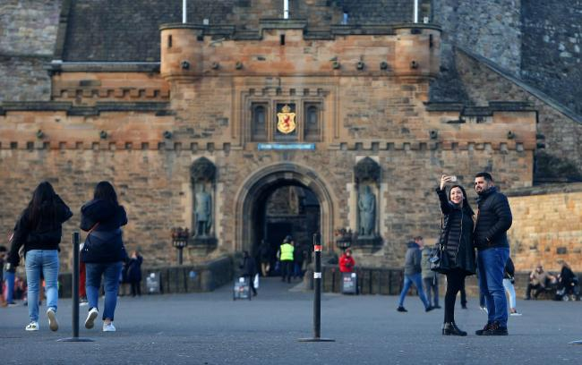 Visitors to Edinburgh may soon face a £2 charge per night. Photograph: Gordon Terris
