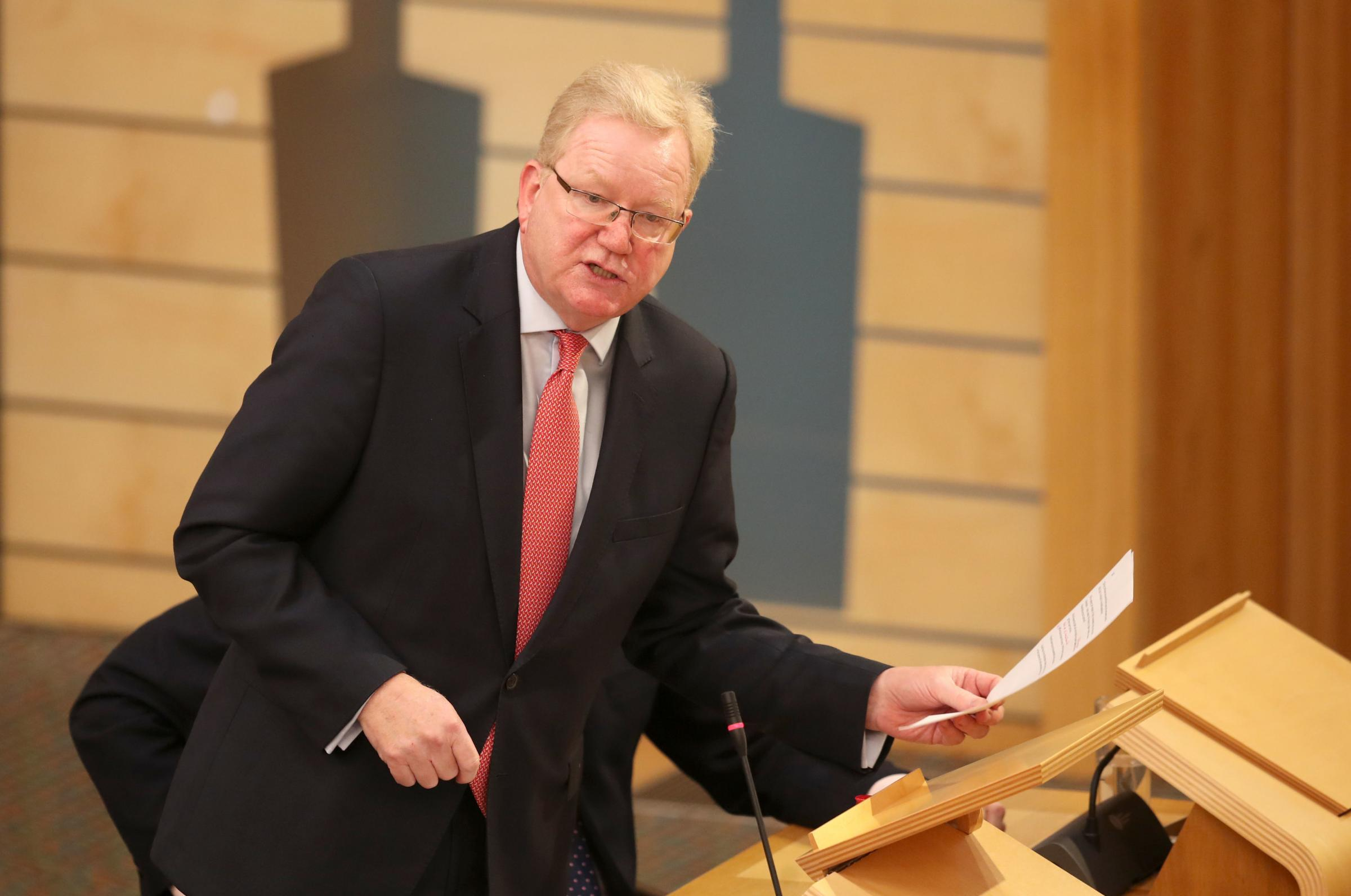Jackson Carlaw used his final questions at FMQs to ask about Ruth Davidson's favourite subject: independence