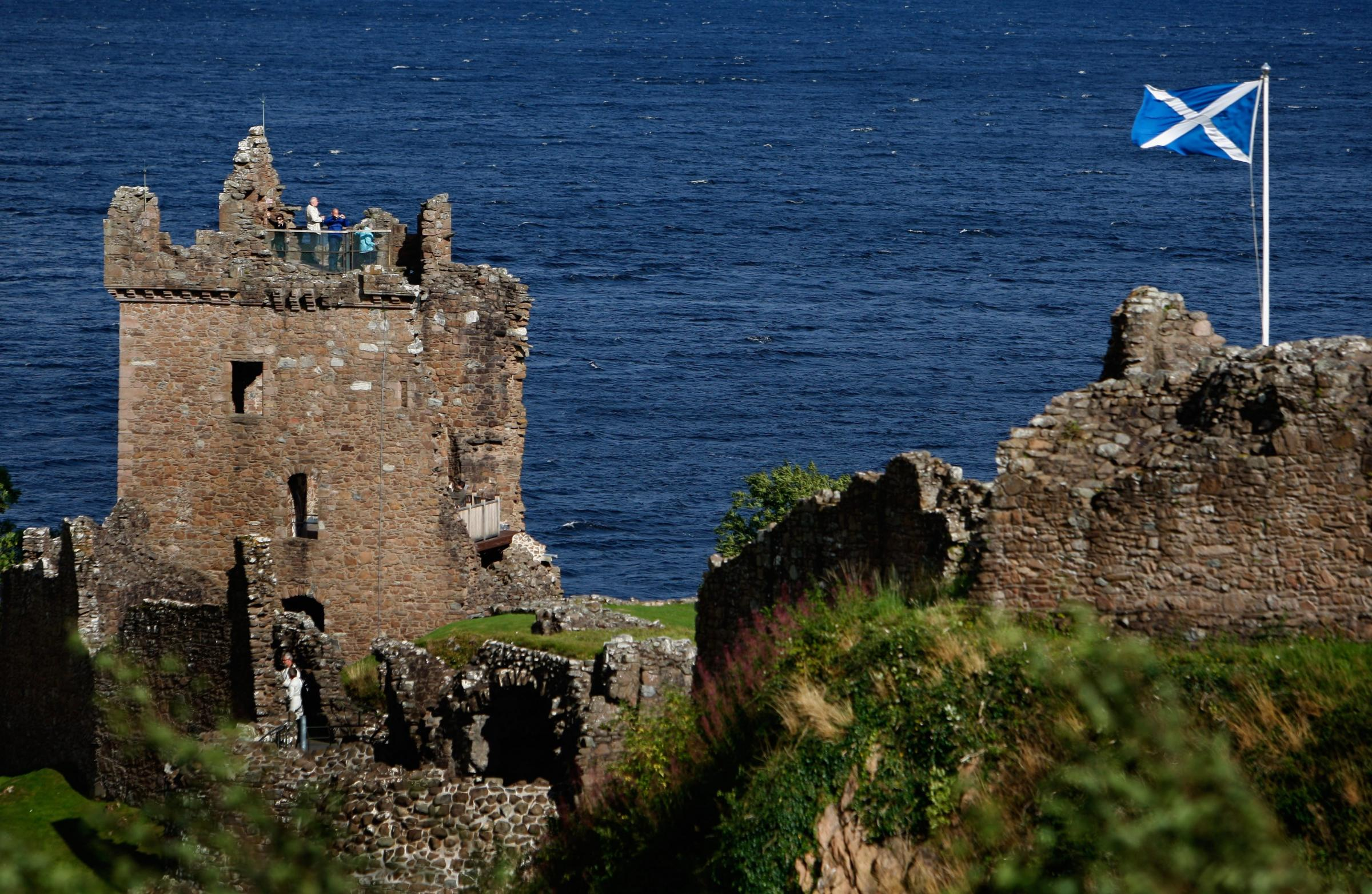 Sites such as Urquhart Castle on the banks of Loch Ness attracted more than 18m visitors to Scotland in 2017-18.