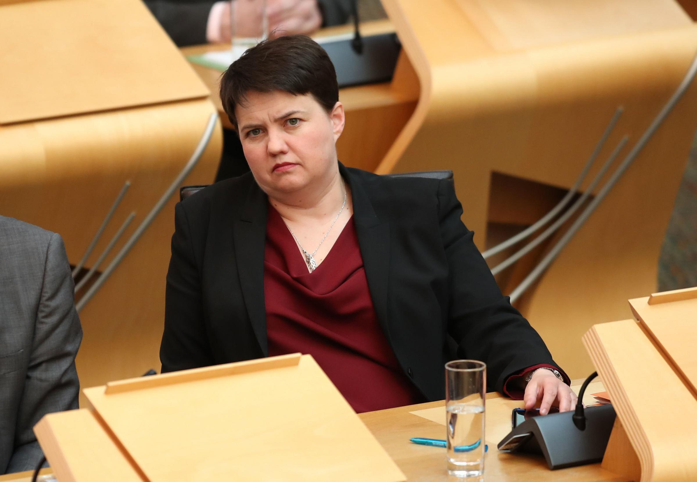 Ruth Davidson's latest FMQs performance had onlookers reflecting fondly on the Jackson Carlaw days