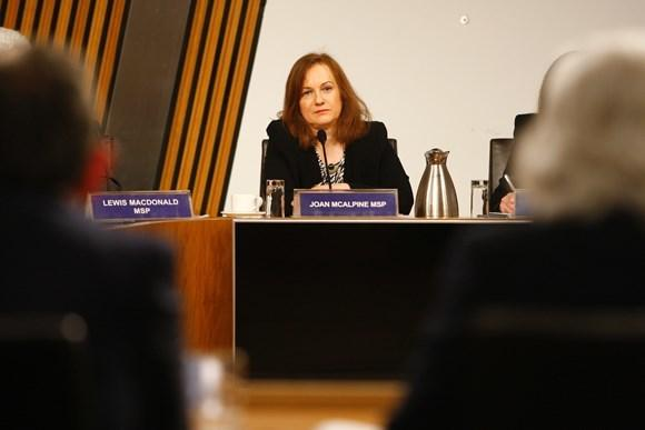 Joan McAlpine MSP, convener of the Culture, Tourism, Europe and External Affairs Committee, highlighted the challenged faced in Scotland's arts sector