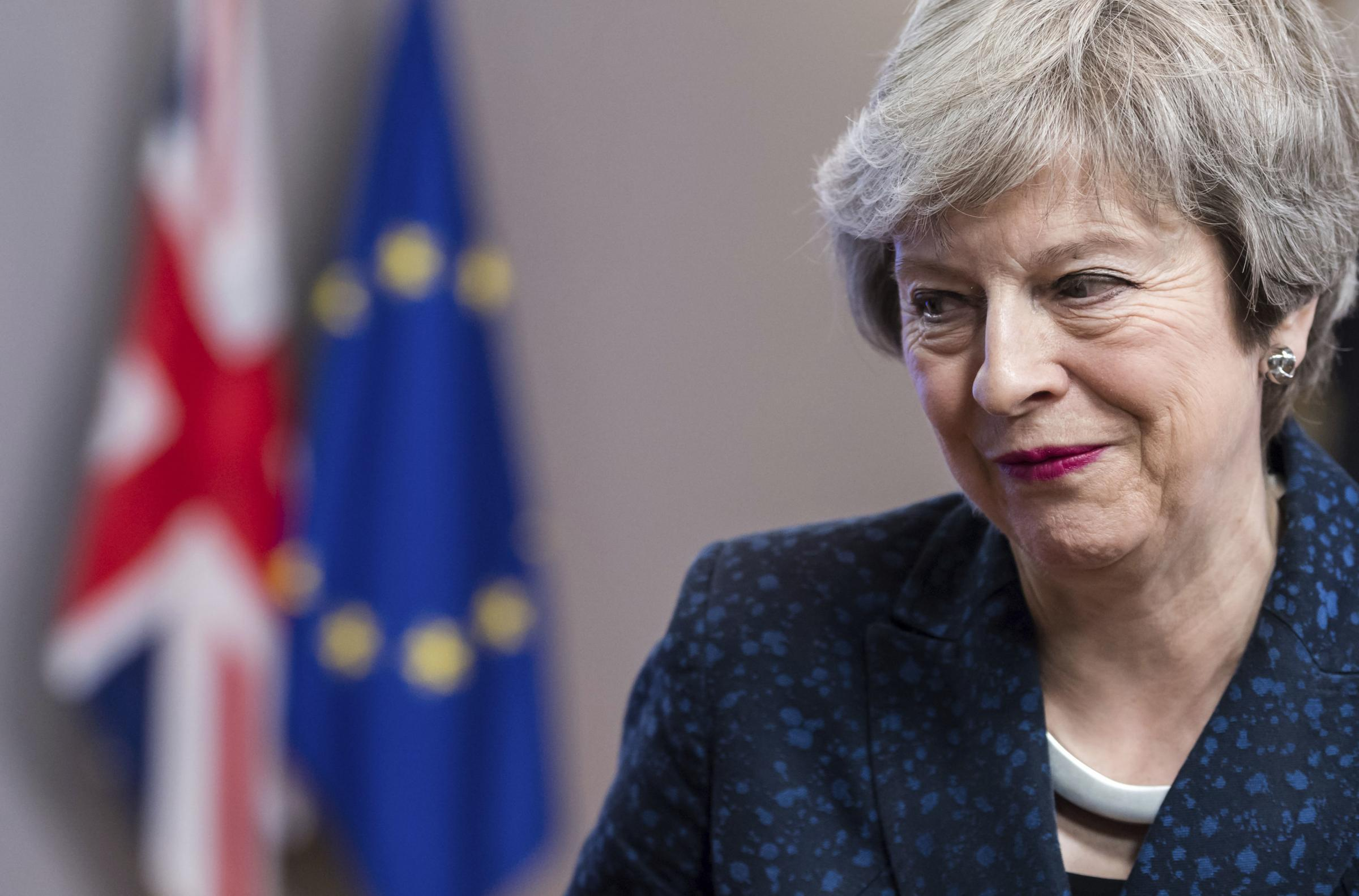 Theresa May is seeking changes to the backstop measure to prevent a hard border with Ireland
