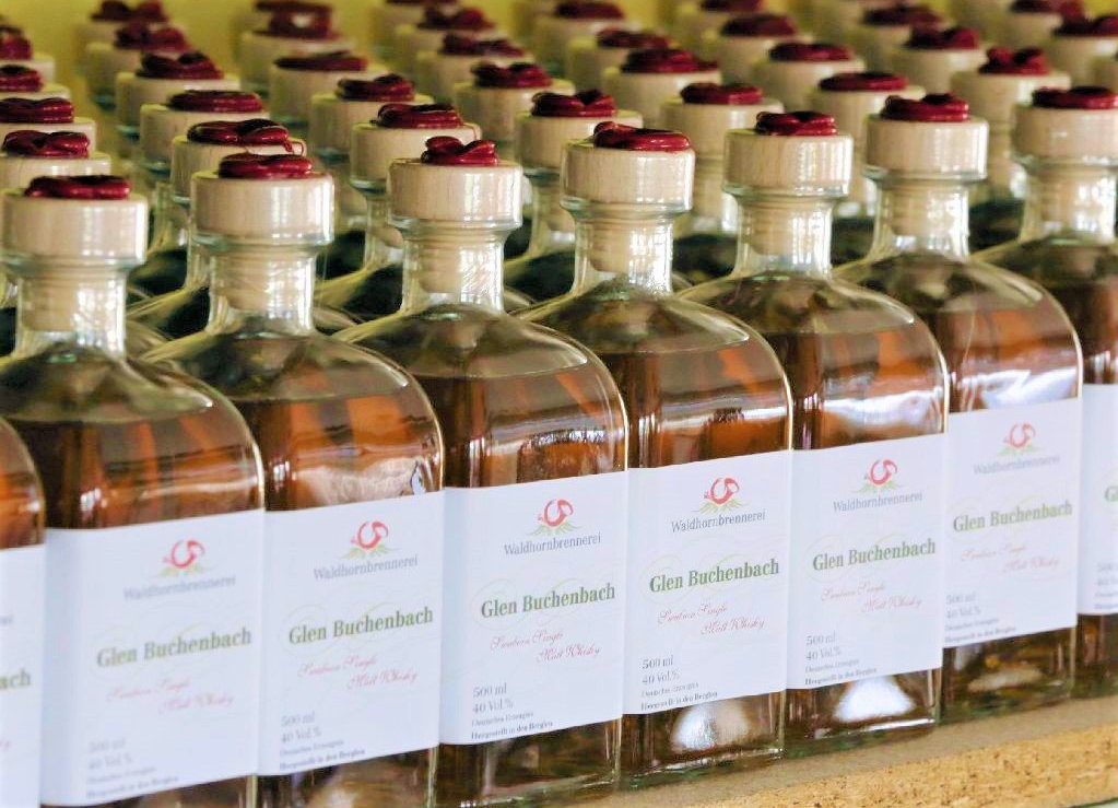 A German distillery called its version of the water of life Glen Buchenbach