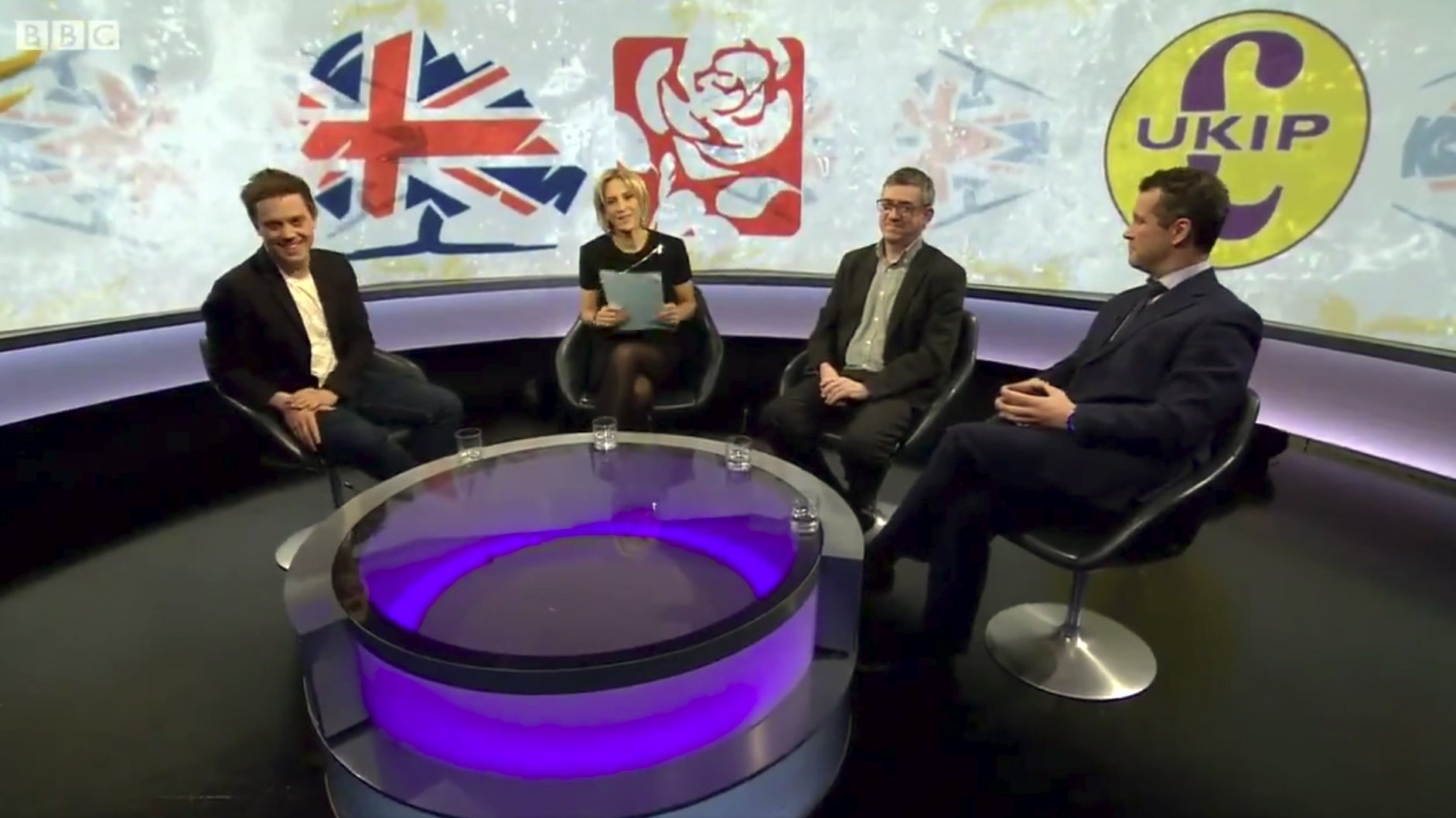 BBC issues apology after SNP's omission from Newsnight logo