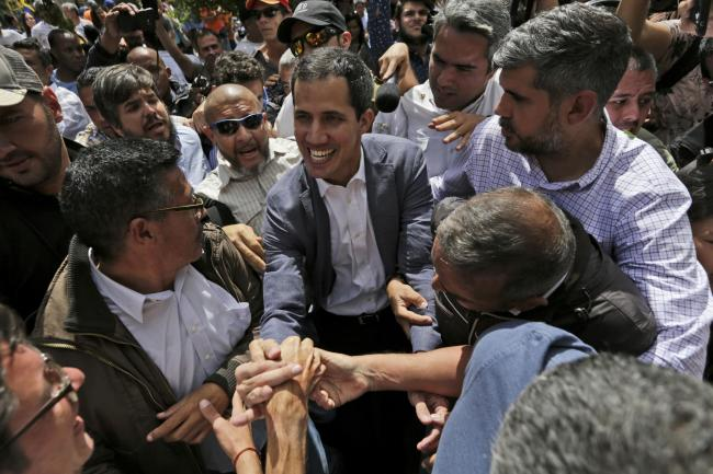 Venezuela's Juan Guaidó has been recognised as interim president by major nations