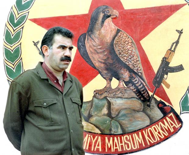 The National: Ocalan, the leader of the Kurdistan Workers' Party who is held isolated in a Turkish prison