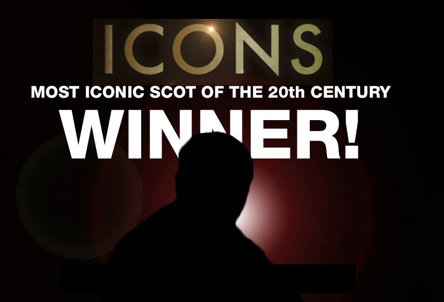 The most iconic Scot of the 20th century is...