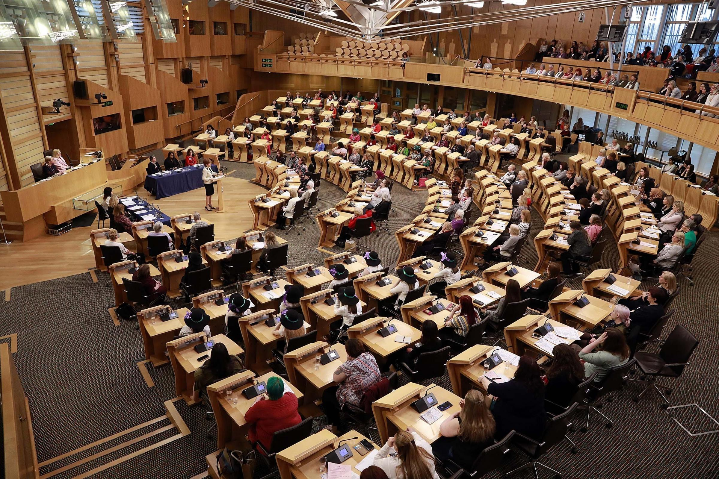 A German journalist says Holyrood has changed Scotland's standing in Europe and the world