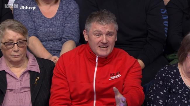 Orange Jacket Man managed to get on Question Time more than most SNP politicians