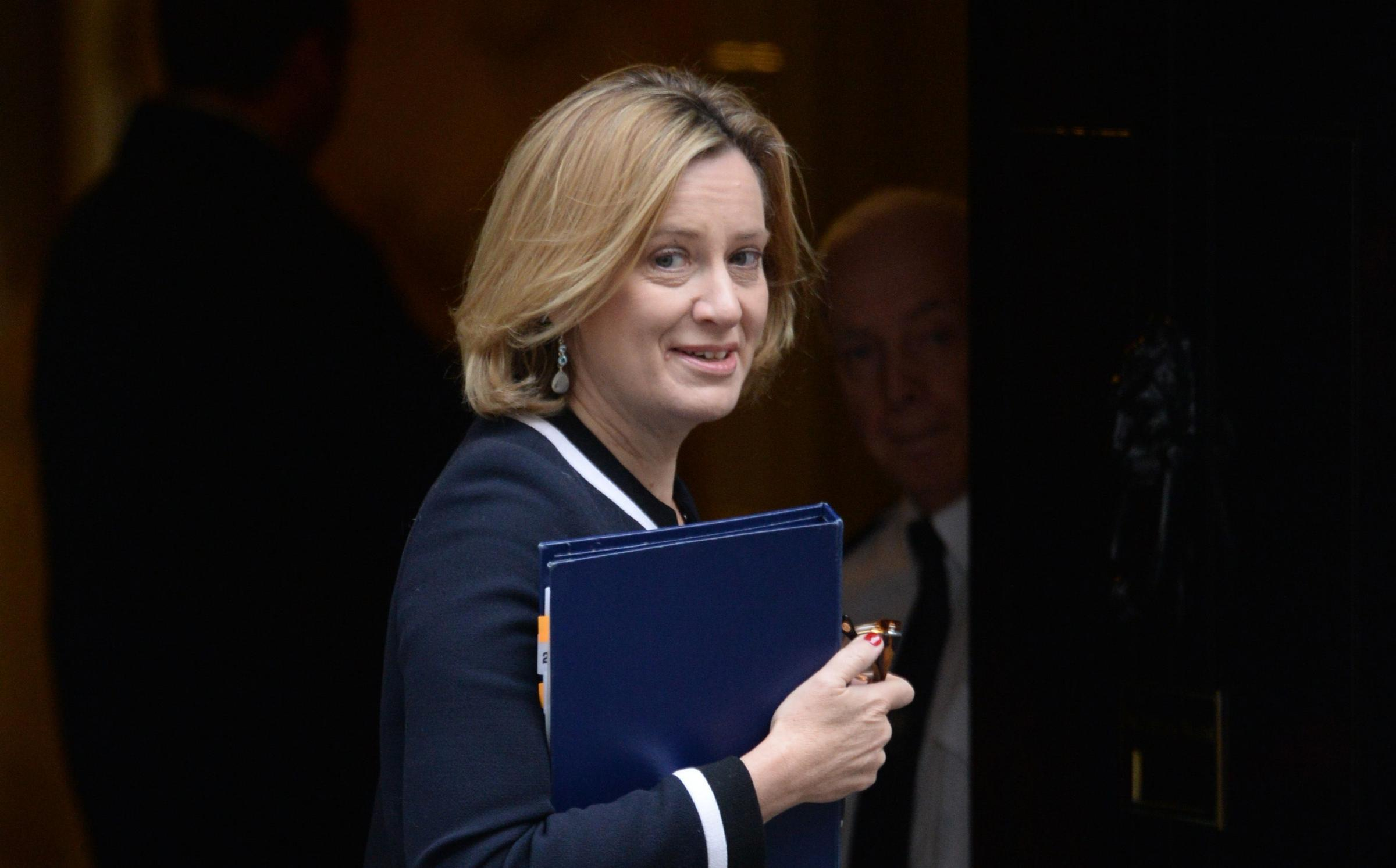 Amber Rudd made the admission during DWP quesitons