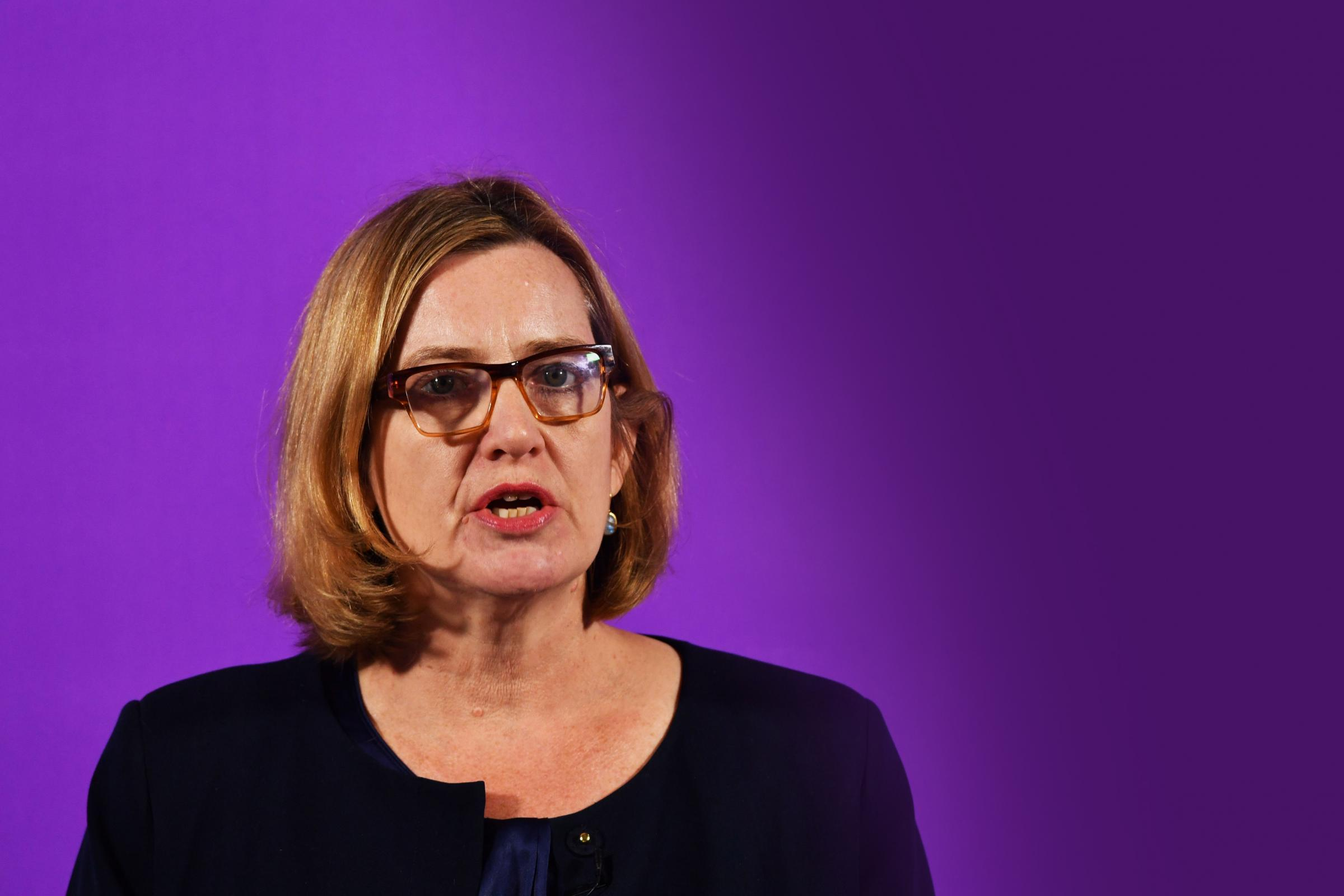Work and Pensions Secretary Amber Rudd acknowledged the impact of Universal Credit on food bank use