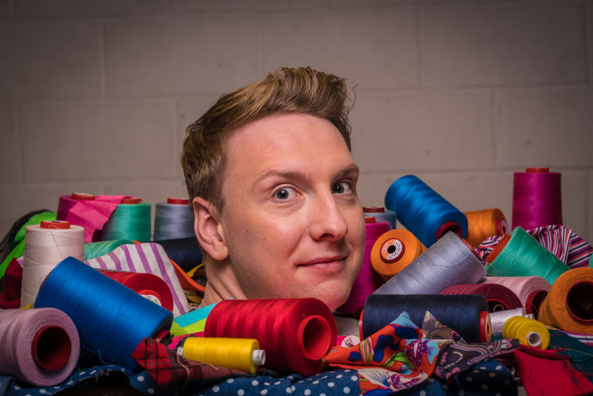 Joe Lycett is the new host of The Great British Sewing Bee