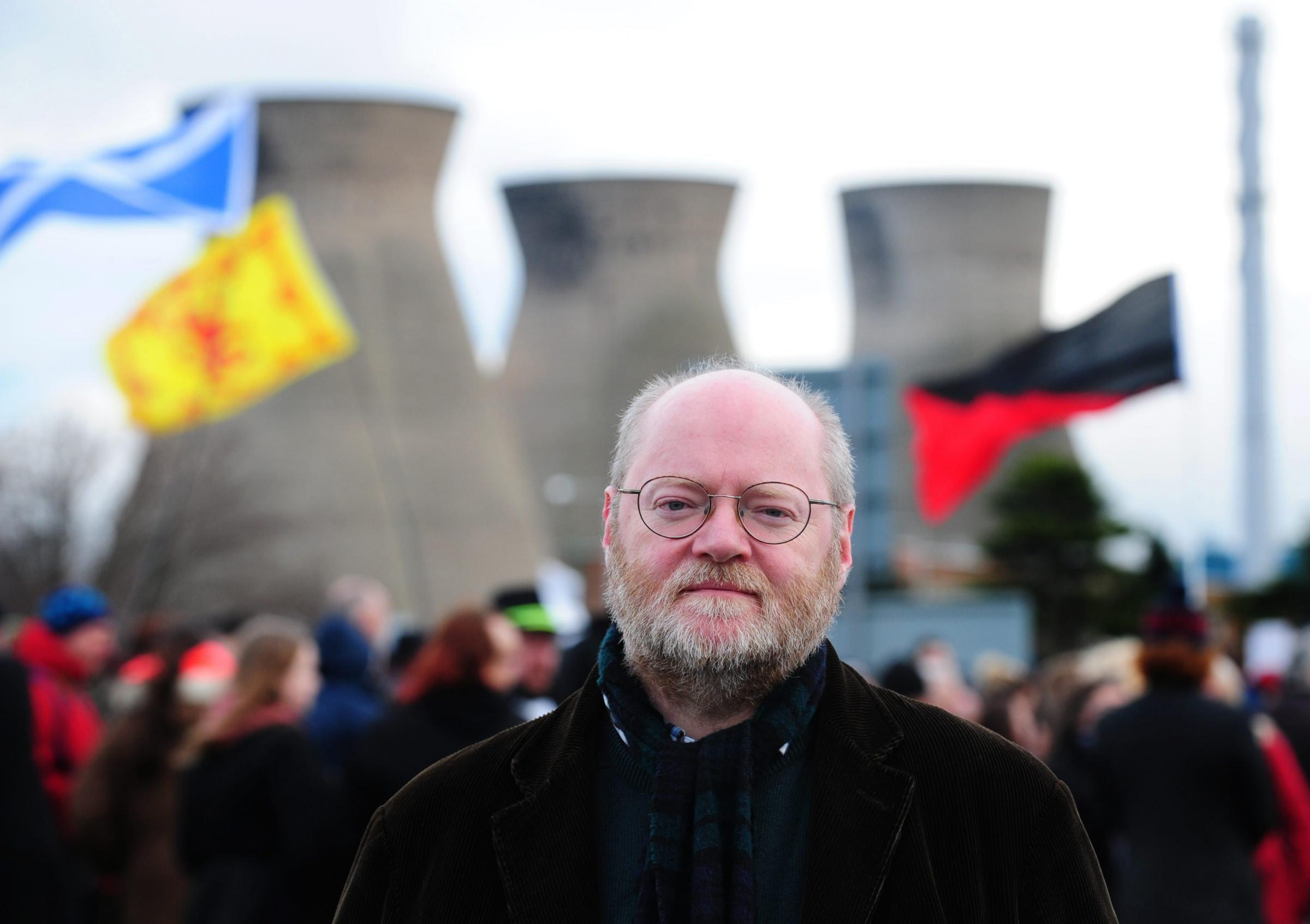 Dr Richard Dixon, director of Friends of the Earth Scotland, supports the plan