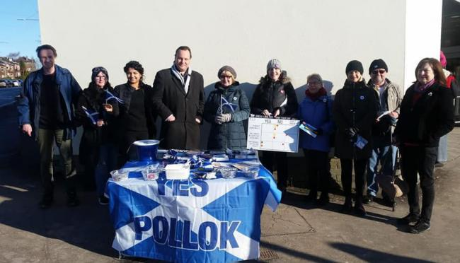 The Yes Pollock group has ran stalls in the local area