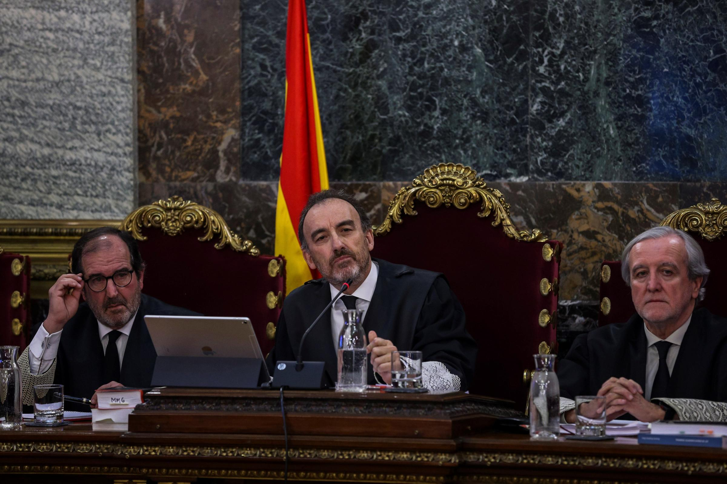 Fears have been raised over the handling of the trial by court president Manuel Marchena
