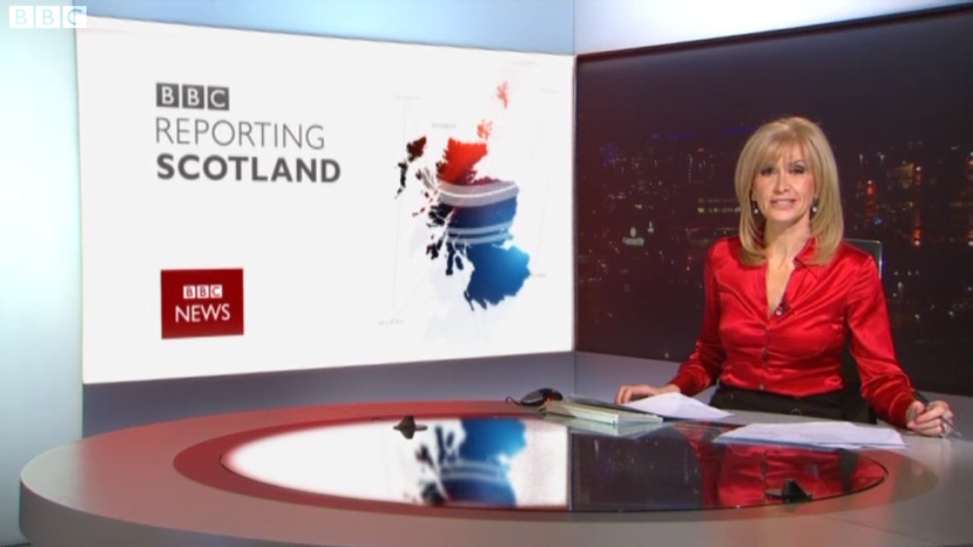 Jackie Bird incorrectly said Scotland's Q1 growth in 2018 'roughly matched' the UK total