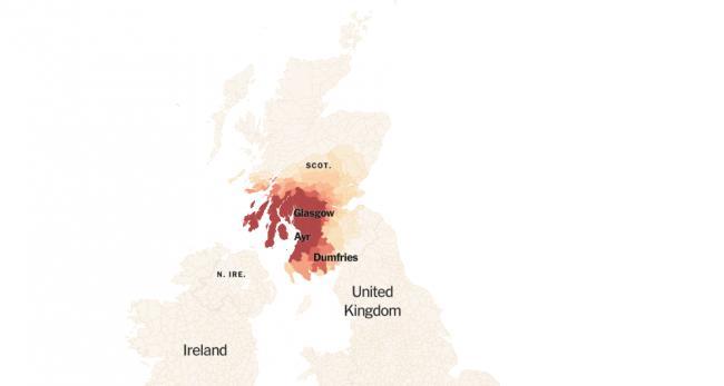 Map Of Ireland Quiz.Everyone Is Taking This Brilliant British Irish Dialect Quiz The