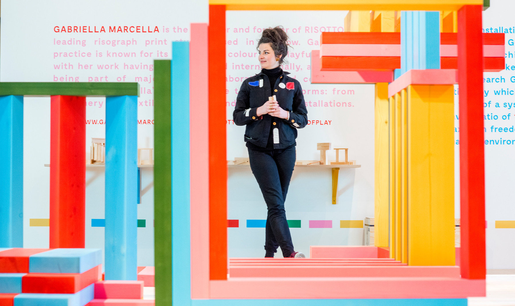 Garbriella Marcella designed the colourful new exhibition at the V&A Dundee.
