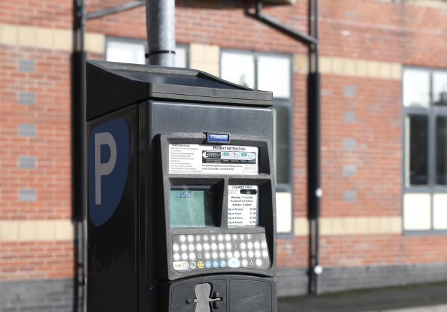 Last month the councillors voted to remove free parking periods in pay-and-display car parks