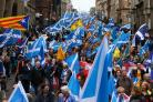 Last year an estimated 50-60,000 people turned out for the Glasgow event