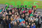 University of Stirling staff and students are preparing to walk 238,855 miles in 150 days