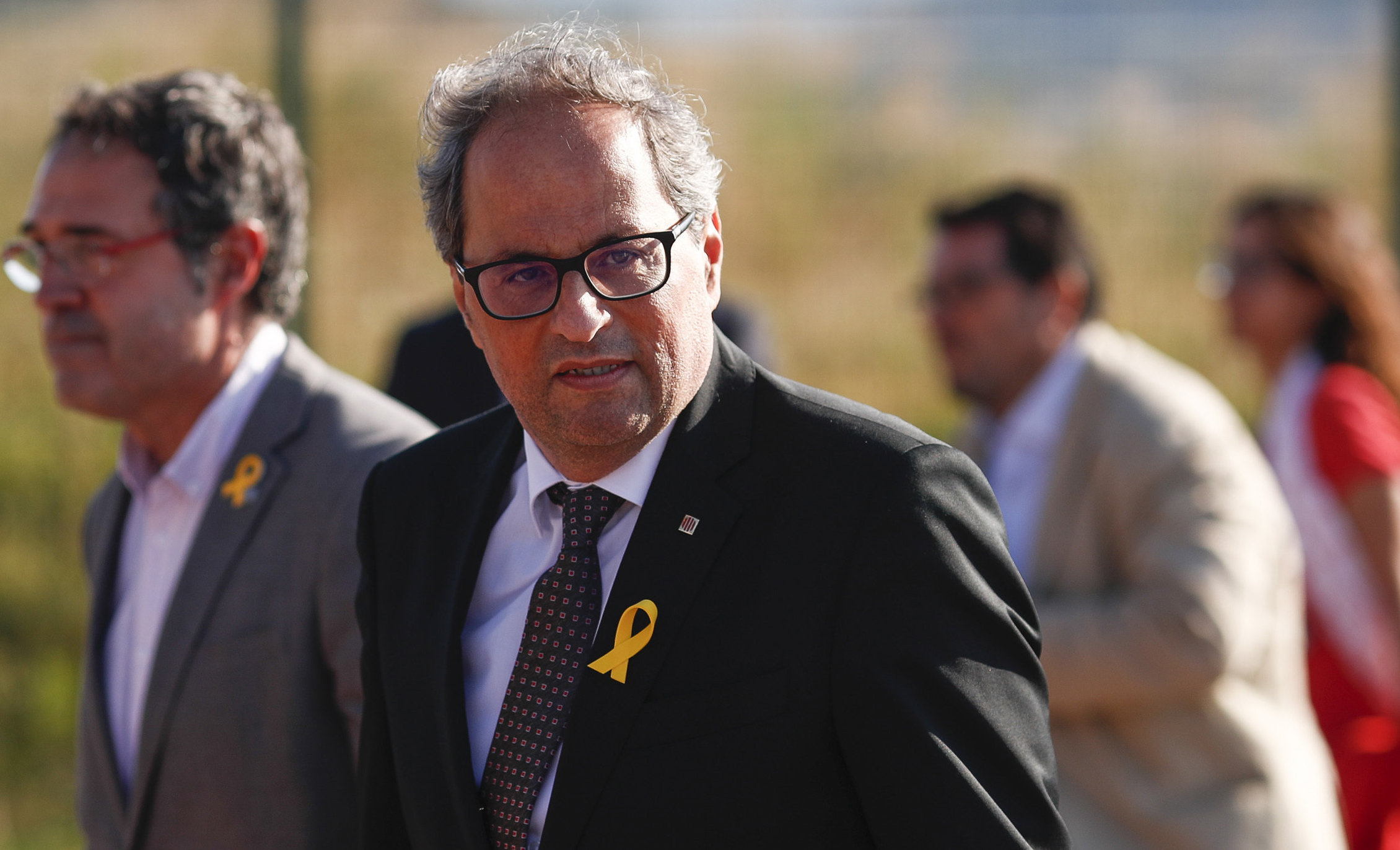 Quim Torra hit out at the decision to not hold a conference