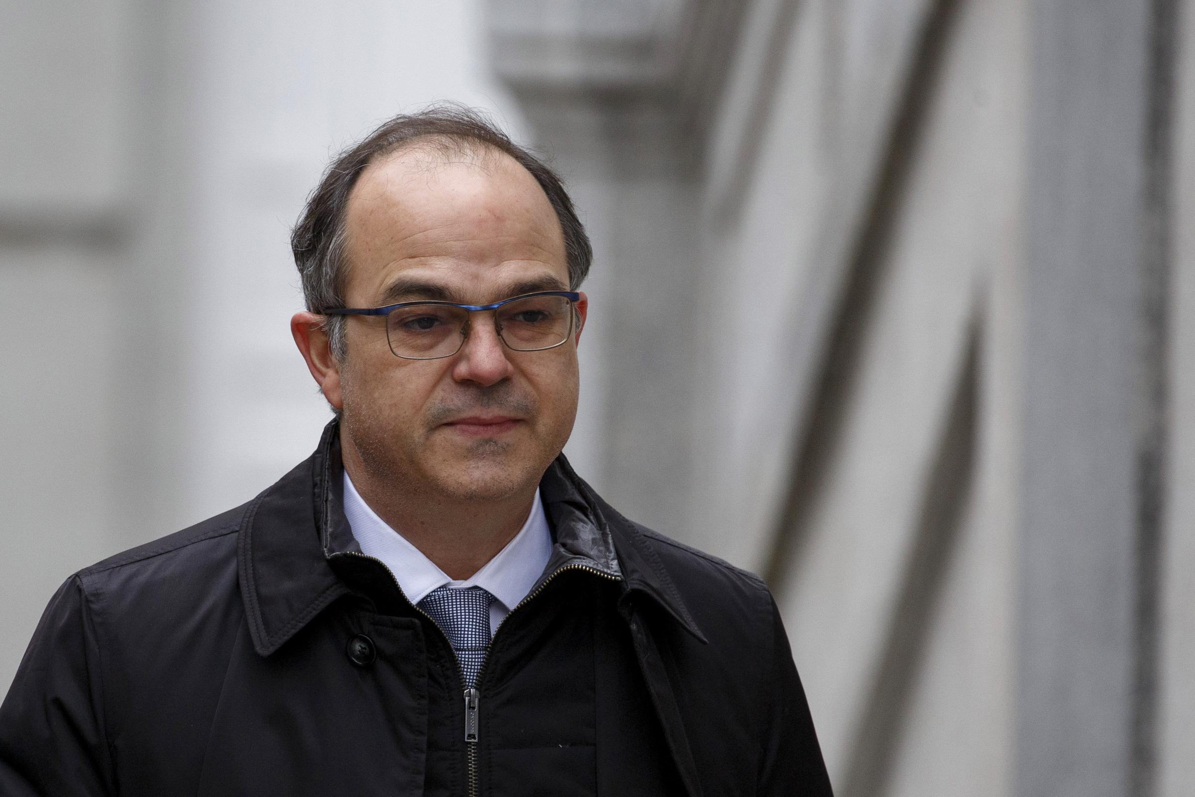 Jordi Turull is one of 12 pro-independence leaders on trial at the Spanish Supreme Court