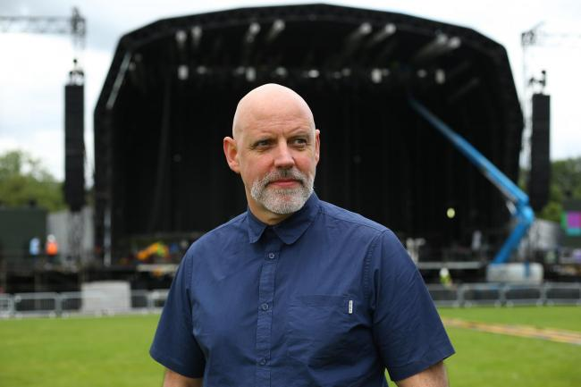 Festival director Geoff Ellis claimed that gender-balanced bills were not possible