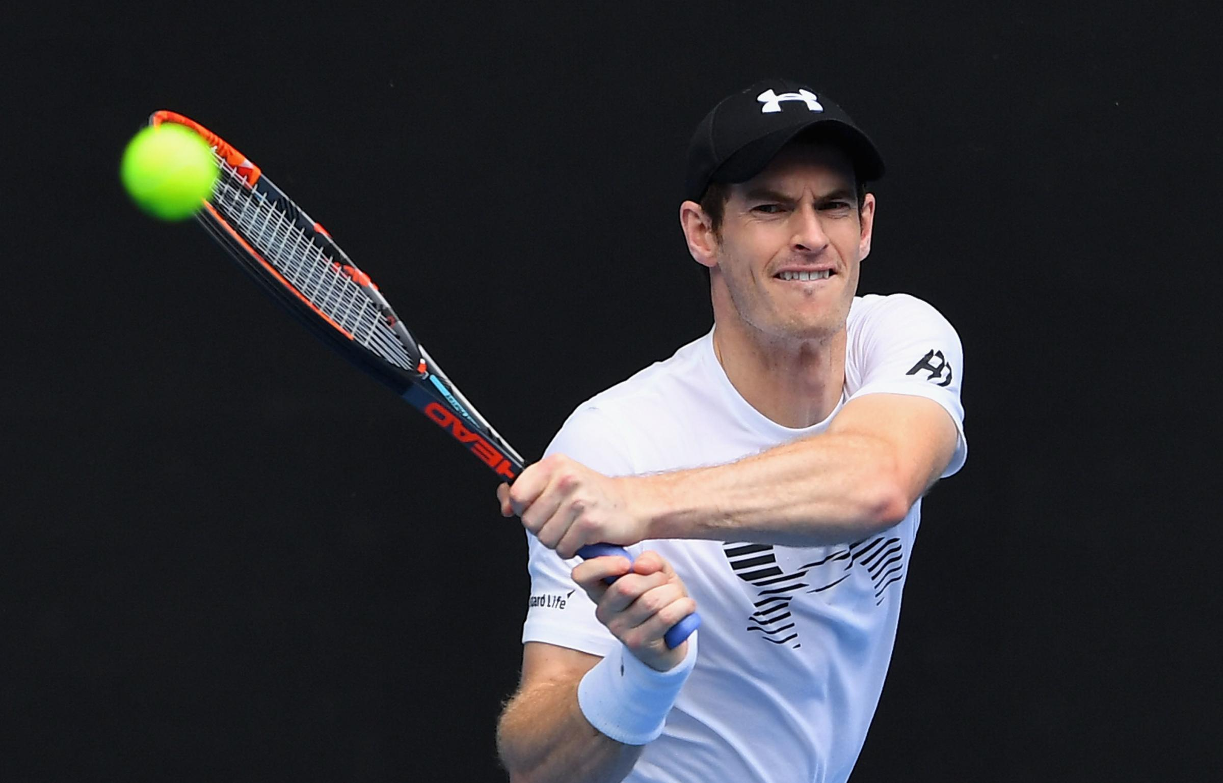 Andy Murray had hip surfacing surgery at the end of January