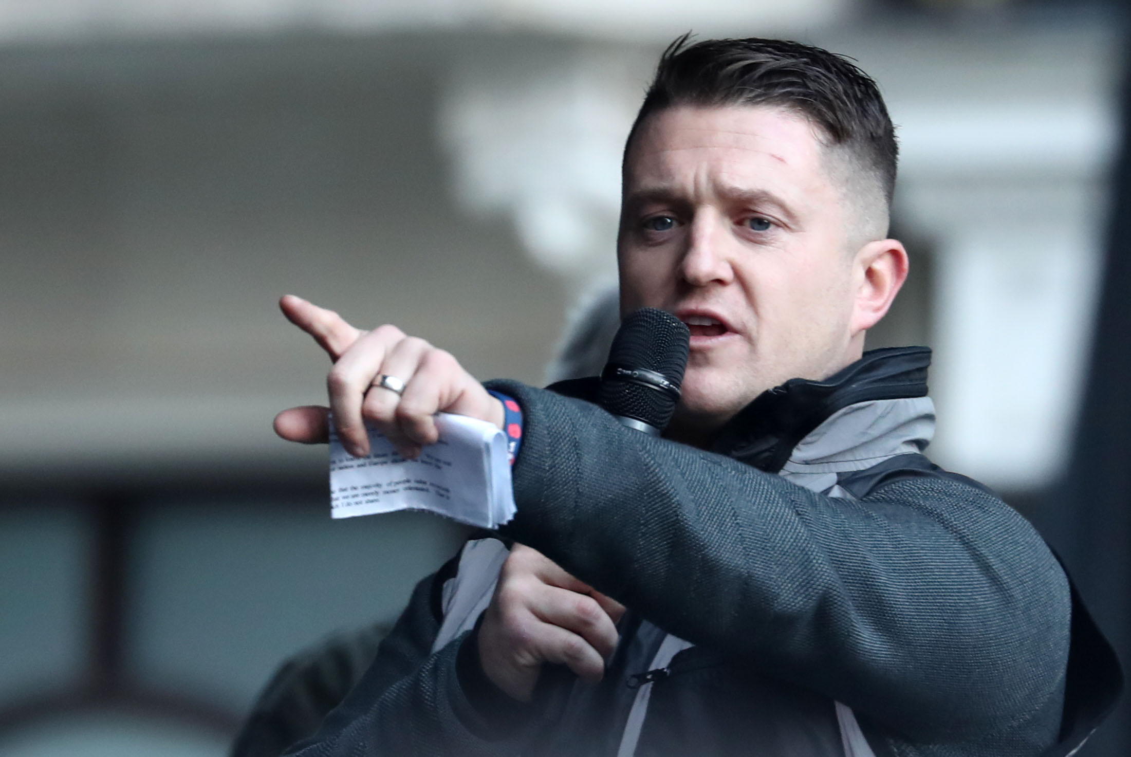 Tommy Robinson claimed Cambridgeshire Police targeted him because of his beliefs