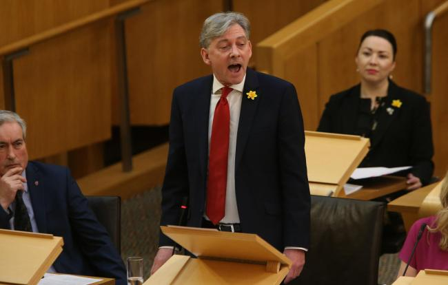 Richard Leonard panned on Twitter after claiming Labour are 'internationalist'