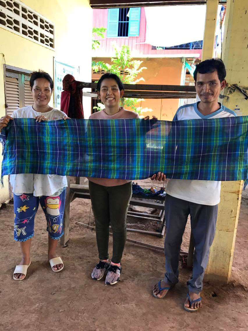 Paisley's textile past to help Cambodia create world's first fair trade tartan