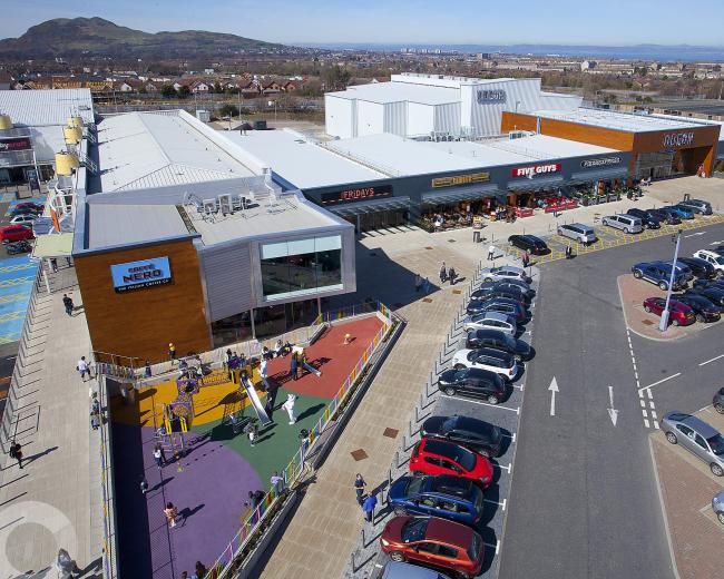 The controversial sale of Fort Kinnaird Retail Park boosted retail sector figures