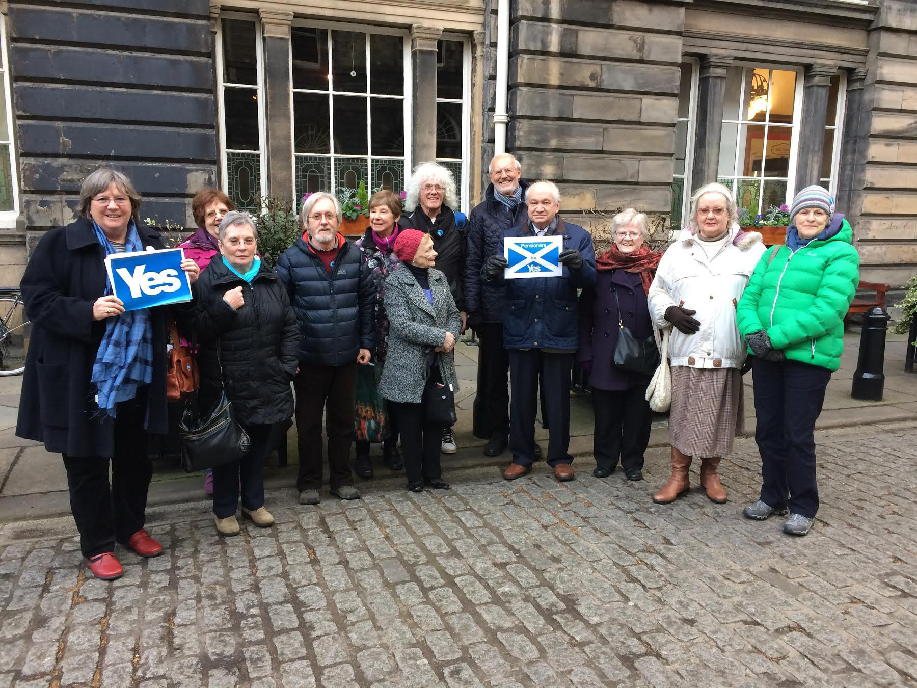 Pensioners for Independence have pledged their support to the national initiative