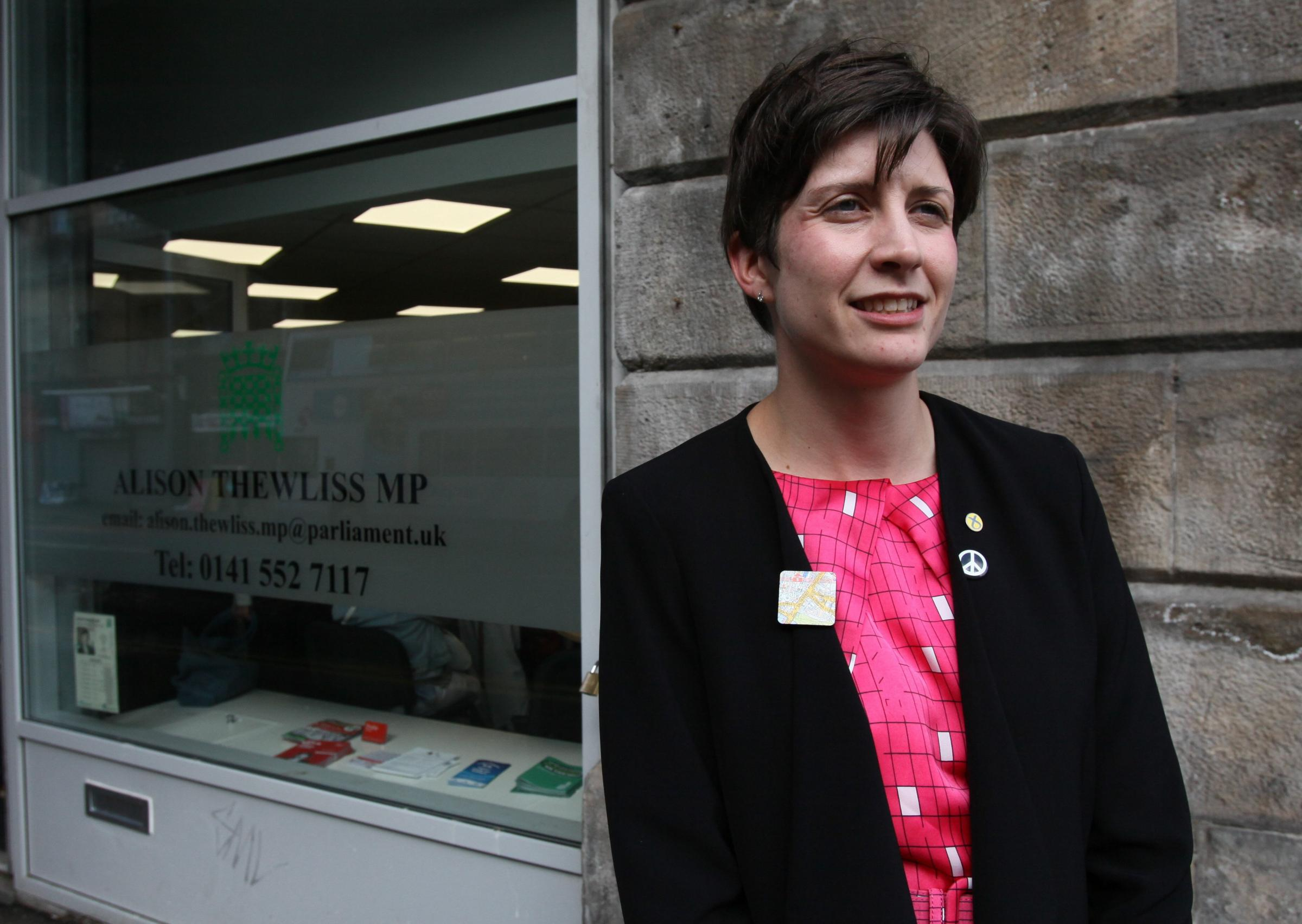 SNP MP Alison Thewliss accused the Tories of another 'power grab'