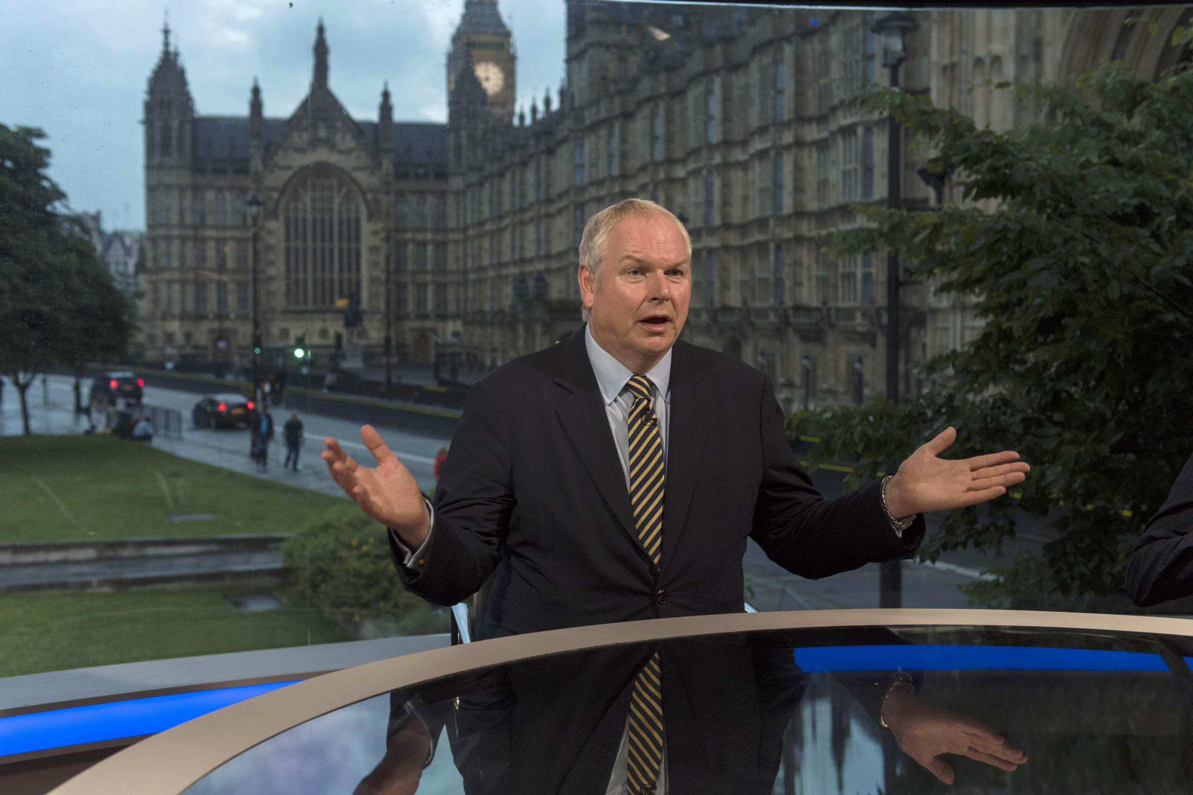 Sky News presenter Adam Boulton's clarification left a bit to be desired