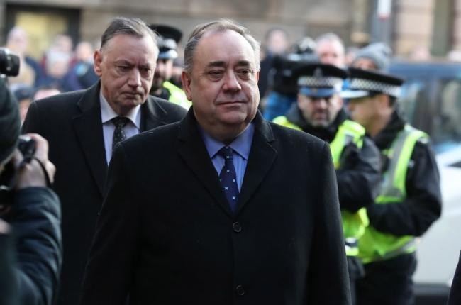 Alex Salmond won a procedural case in January over the process of its investigation into harassment allegations against him