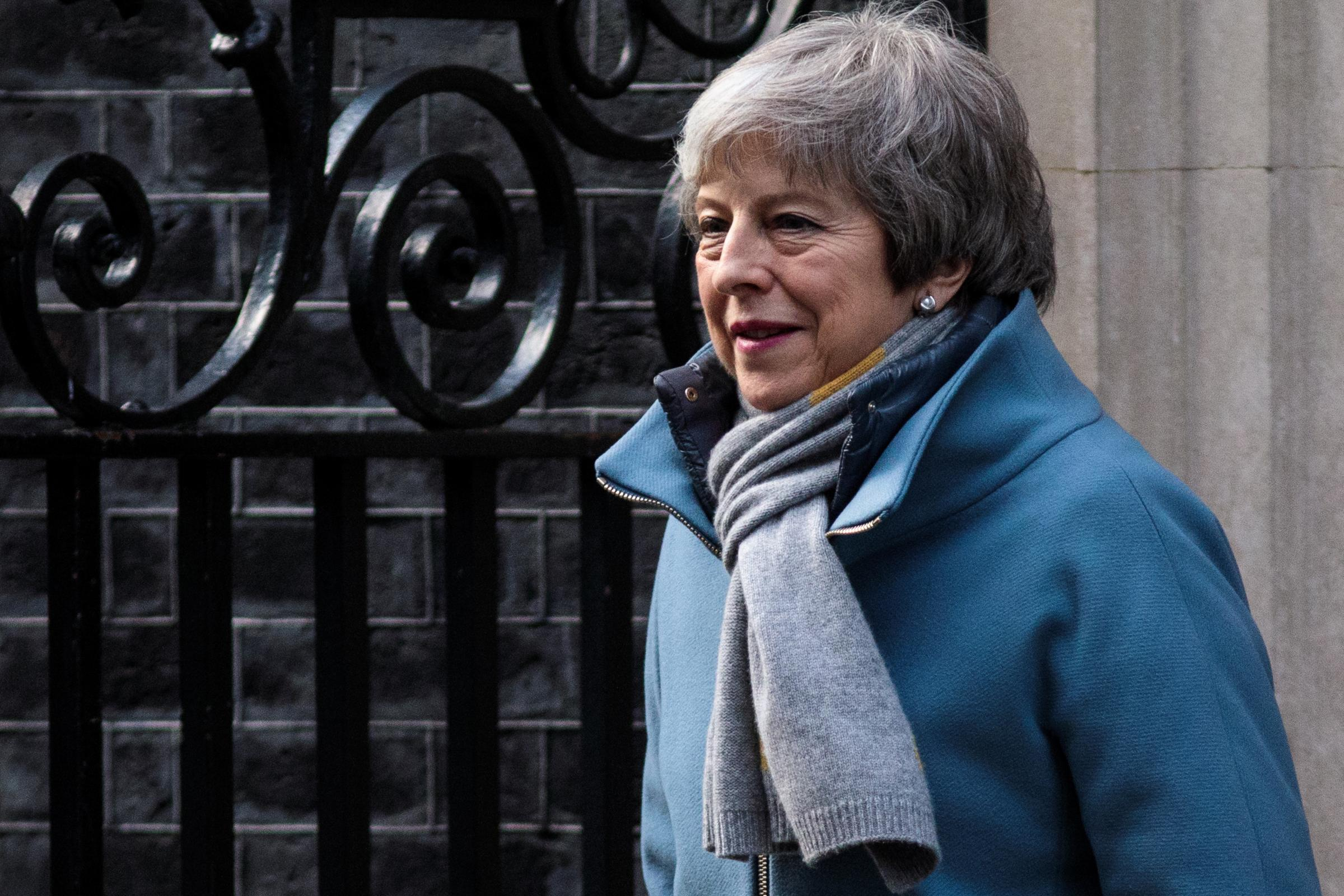 May criticised for not responding to climate protesters' requests