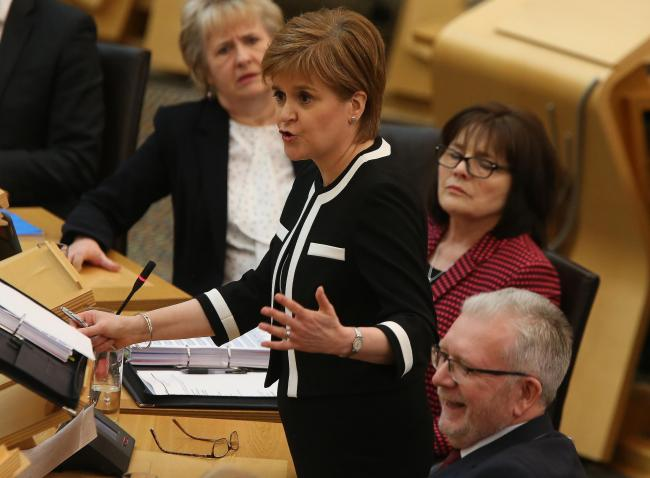 Many are getting fed up with what they view as the First Minister's dithering