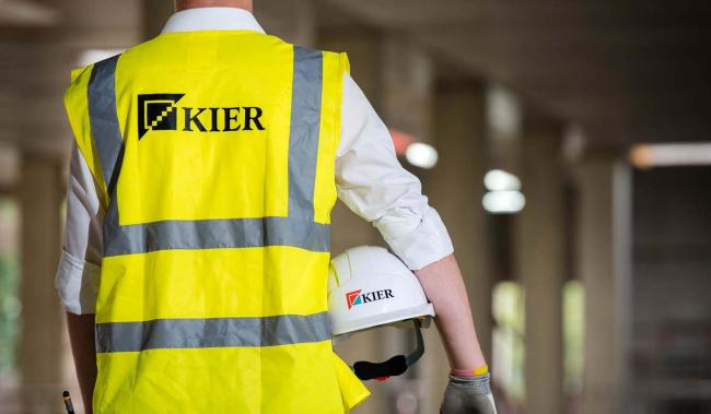 Kier Group posted a pre-tax loss of £35.5 million