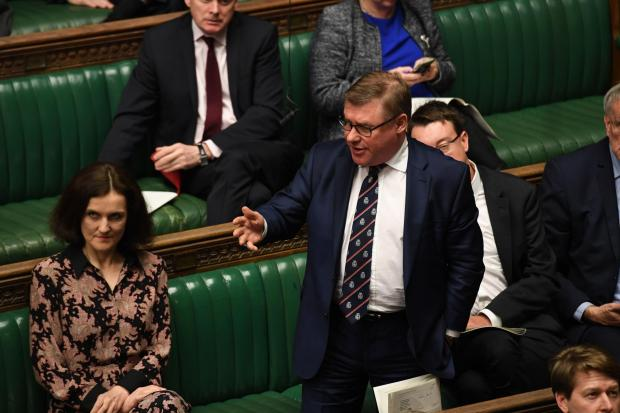 The National: Tory Brexiteer Mark Francois