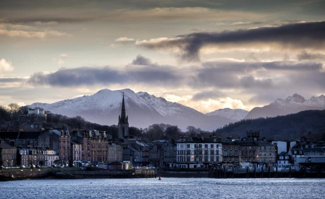 The Isle of Bute, owned by a charity, the Mount Stuart Trust, and operating as a closed shop