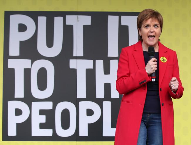 FM tells London march: Internationalism is at the heart of