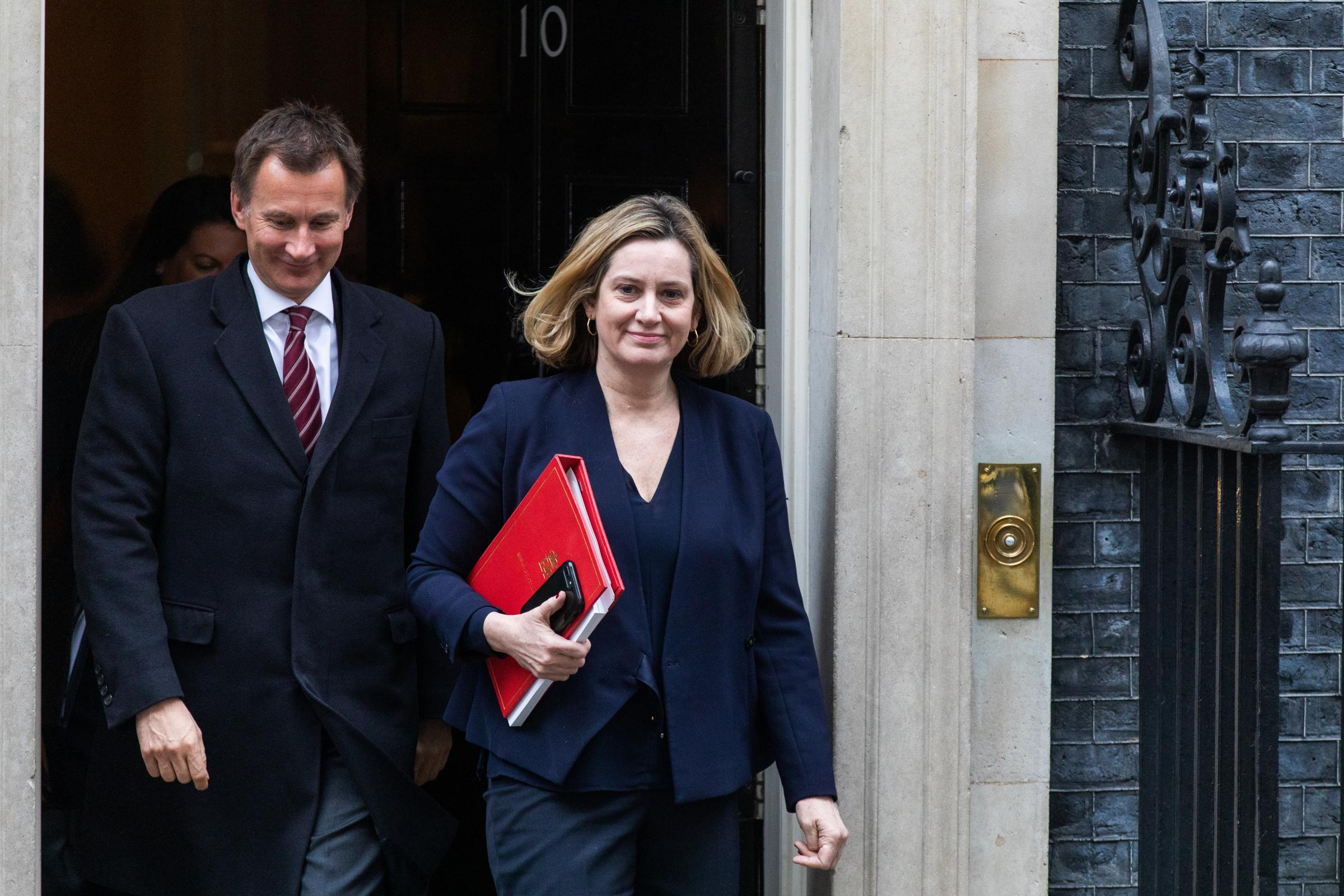Amber Rudd has supported finding a cross-party consensus for several months.