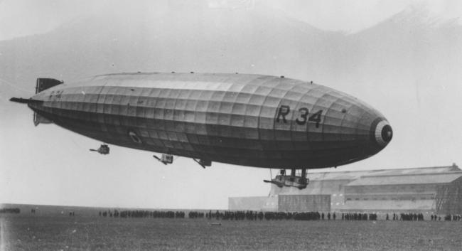 Museum marks the centenary of epic Atlantic airship journey | The