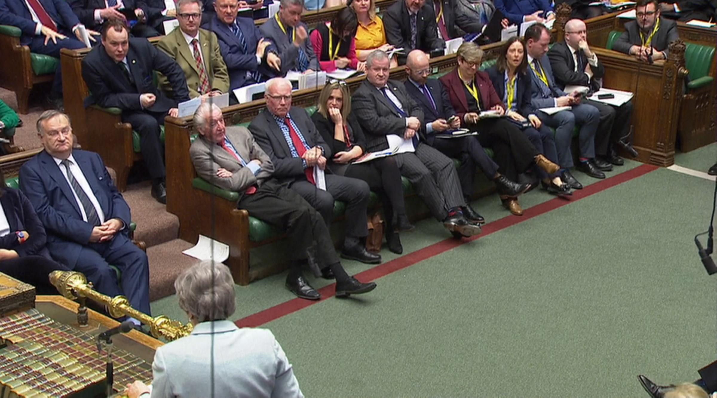 WATCH: Tory MPs shout at SNP to 'go home' to Scotland during Brexit debate