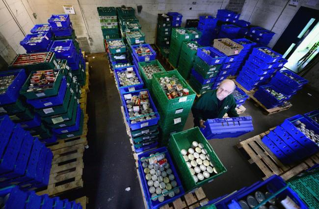 Statistics about food bank use in Scotland have been called 'shameful'