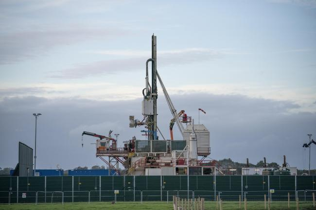 Local authorities cannot grant planning permission for fracking, but there is no fracking ban in place
