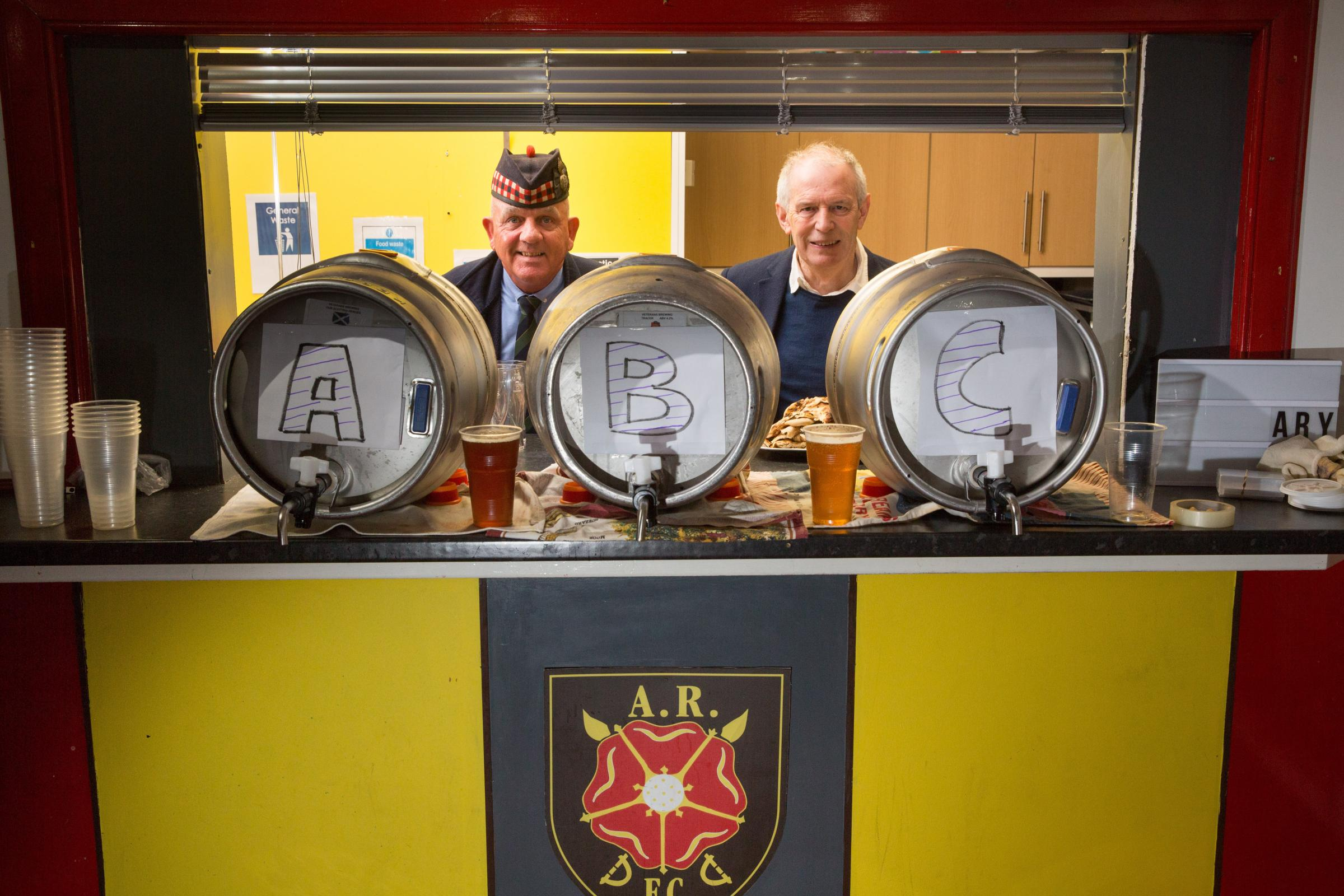 Albion Rovers and Veterans Brewing team up for beer deal