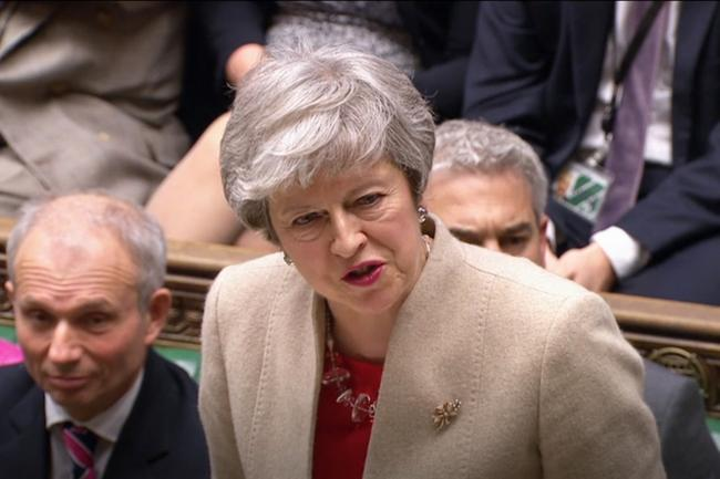 PMQs Sketch: May was programmed to talk some decades ago — and never stopped